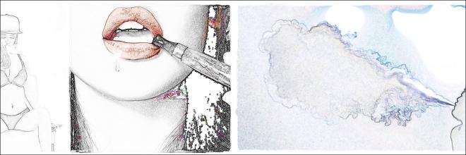 lipsmontage